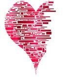 Le coeur brisé Photographie stock libre de droits