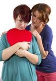 Le coeur brisé Photo libre de droits