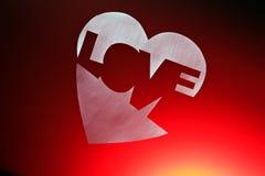 Le coeur brisé Image stock