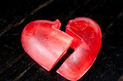 Le coeur brisé Photos libres de droits