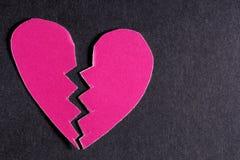 Le coeur brisé Photographie stock