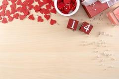 Le coeur de concept de jour de valentines est amour d'automne image libre de droits