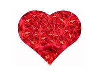 Le coeur de la fleur image libre de droits