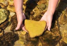 Le coeur de la nature et des rivières Photo libre de droits