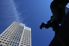 Le coeur de Rotterdam Image libre de droits