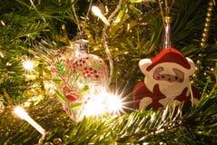 Le coeur de Santa Photo stock