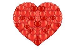 Le coeur de Valentine illustration de vecteur