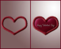 Le coeur de Valentine Illustration Stock