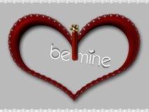 Le coeur de Valentine Illustration Libre de Droits