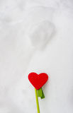 Le coeur de Valentine Photos stock