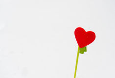 Le coeur de Valentine Photos libres de droits