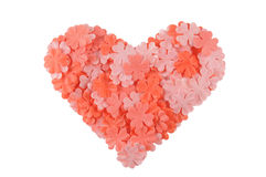 Le coeur de Valentine Photo stock