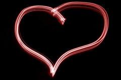 Le coeur du valentine rouge photo libre de droits