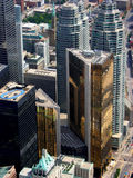 Le coeur financier de Toronto. photo stock