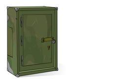 Le coffre-fort Image stock