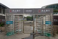 Le coin de terminal-Un de ferry de porte-Xiamen de la ville de Xiamen Images stock