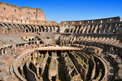 Le Colisé à Rome, Italie Image stock