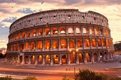 Le Colisé majestueux, Rome, Italie. Images libres de droits