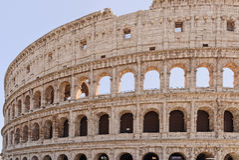 Le Colisé, Rome photo stock
