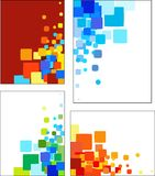 Le collezioni di mosaico hanno designato i reticoli di vettore royalty illustrazione gratis