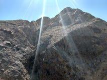 Le colline Immagini Stock
