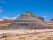 Le colline del tepee hanno petrificato Forest National Park Fotografia Stock Libera da Diritti