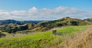 Le colline della California Fotografie Stock