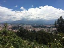 Le colline della montagna di Cuenca, Ecuador Fotografia Stock Libera da Diritti