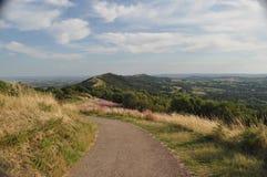 Le colline di Malvern Fotografia Stock
