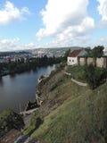 Le colline di Praga Fotografie Stock