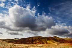 Le colline dipinte dell'Oregon fotografia stock