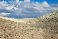 Le colline nel deserto Immagine Stock