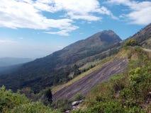 Le colline ripide dell'India del sud Fotografie Stock