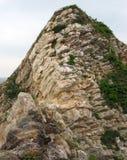 Le colline sterili isolate nella baia di huizhou daya Fotografie Stock