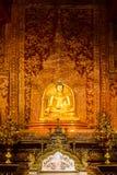 Le coloré de l'art dans le prasingh de wat, l'AMI chaing, tailand Photos stock
