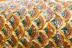Le coloré de l'art dans le prasingh de wat, l'AMI chaing, tailand Photo libre de droits