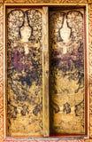 Le coloré de l'art dans le prasingh de wat, l'AMI chaing, tailand Images stock