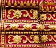 Le coloré de l'art dans le prasingh de wat, l'AMI chaing, tailand Image libre de droits