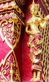 Le coloré de l'art dans le prasingh de wat, l'AMI chaing, tailand Images libres de droits