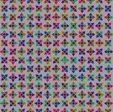 Le coloré du papier peint foncé de modèle de fleur illustration de vecteur