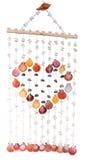 Le coloré du rideau en seashells photographie stock libre de droits