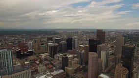Le Colorado aérien Denver banque de vidéos