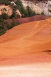 Le Colorado de Rustrel - la Provence Photographie stock