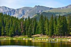 Le Colorado Echo Lake images libres de droits