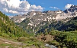 Le Colorado les Rocheuses Photographie stock