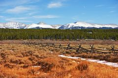Le Colorado majestueux photo stock