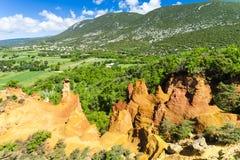 le Colorado provencal Images libres de droits