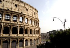 Le Colosseum, Rome photo stock