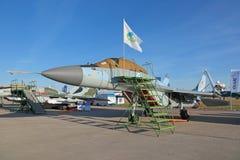 Le combattant de MiG-29K Images stock