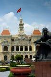 Le Comité Hall, Saigon de peuples Photographie stock libre de droits